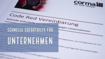Code Red Vereinbarung
