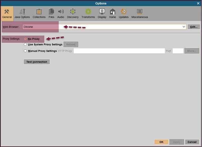 Java Use System Proxy