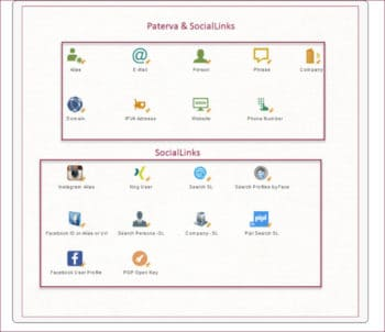 Startseite ubersicht sociallinks startentitaeten